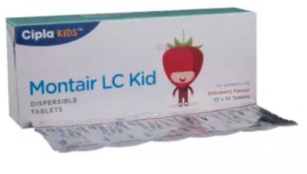 Levocetirizine (2.5mg) + Montelukast (4mg) Generic Pill