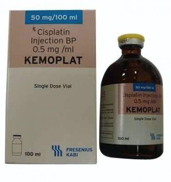 Platinol Generic 50 mg / 50 ml Infusion Bottle