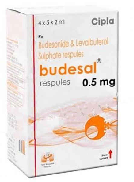 Levalbuterol ( 1.25 mg ) + Budesonide ( 0.5 mg ) Generic Respules 2ml