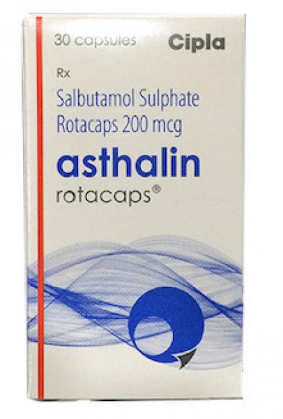 Albuterol Generic 200 mcg Rotacaps with Rotahaler