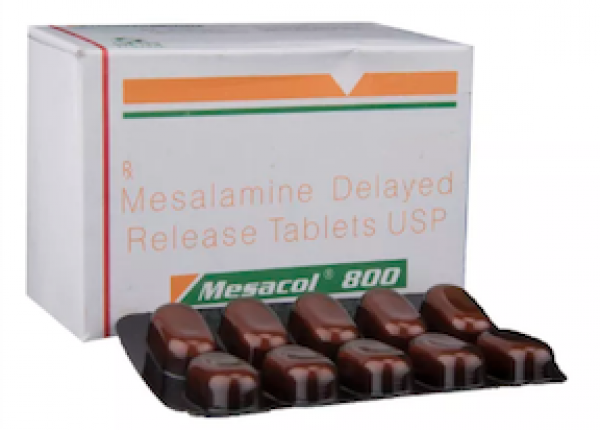 Asacol DR Generic 800 mg Pill