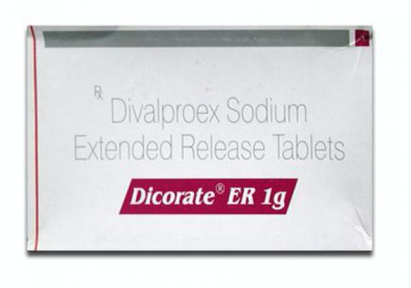 Depakote ER Generic 1 g Pill