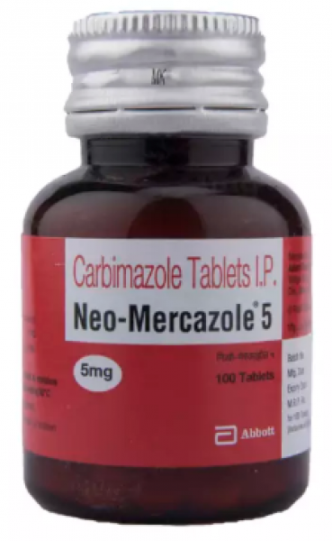 Carbimazole Generic 5 mg Pill
