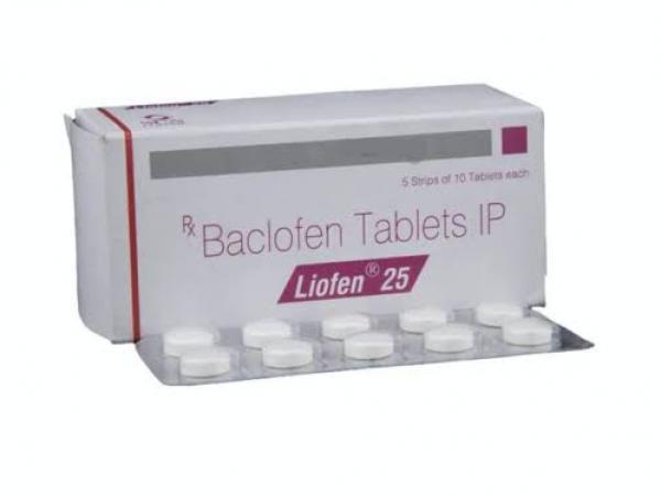 Lioresal Generic 25 mg Pill
