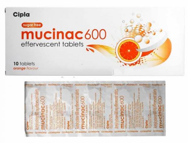 Acetylcysteine Generic 600 mg Pill