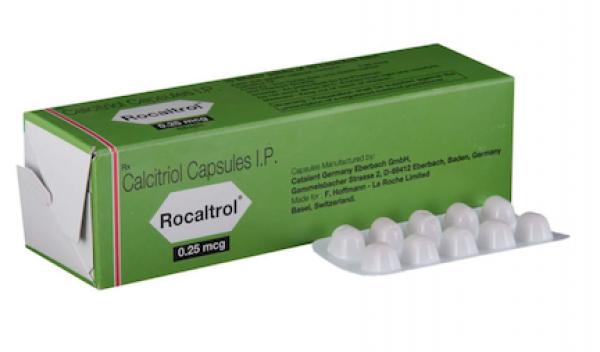 Rocaltrol 0.25 mcg Capsule (International Brand Variant)