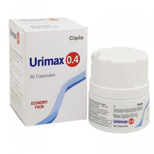 Flomax 0.4 mg capsules  (Generic Equivalent)