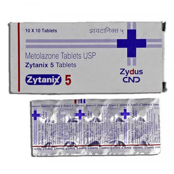 Zaroxolyn 5mg Tablets ( Generic )